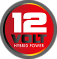 12V badge