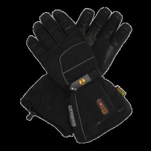 verwarmde skihandschoen